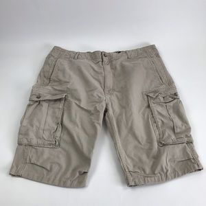 Levi's Khaki Cargo Shorts Men's 40 no size tag
